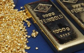 Золото подорожало до максимума за 7 недель
