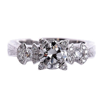 бриллиантовое кольцо под заказ